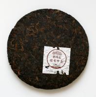 """Шу Пуэр лепешка """"Лао Тун Чжи, чайный блин с чистым ароматом"""" 357 гр._1"""